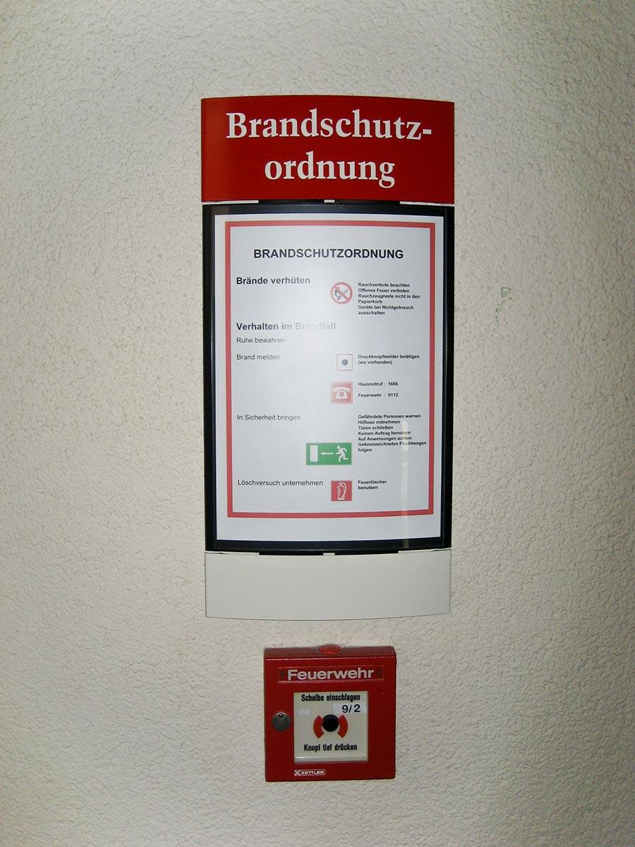 Brandschutzordnung Paperflex Pacifik von Modulex