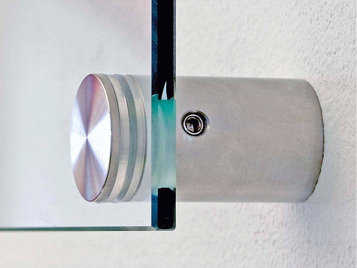 Detail Glashalter