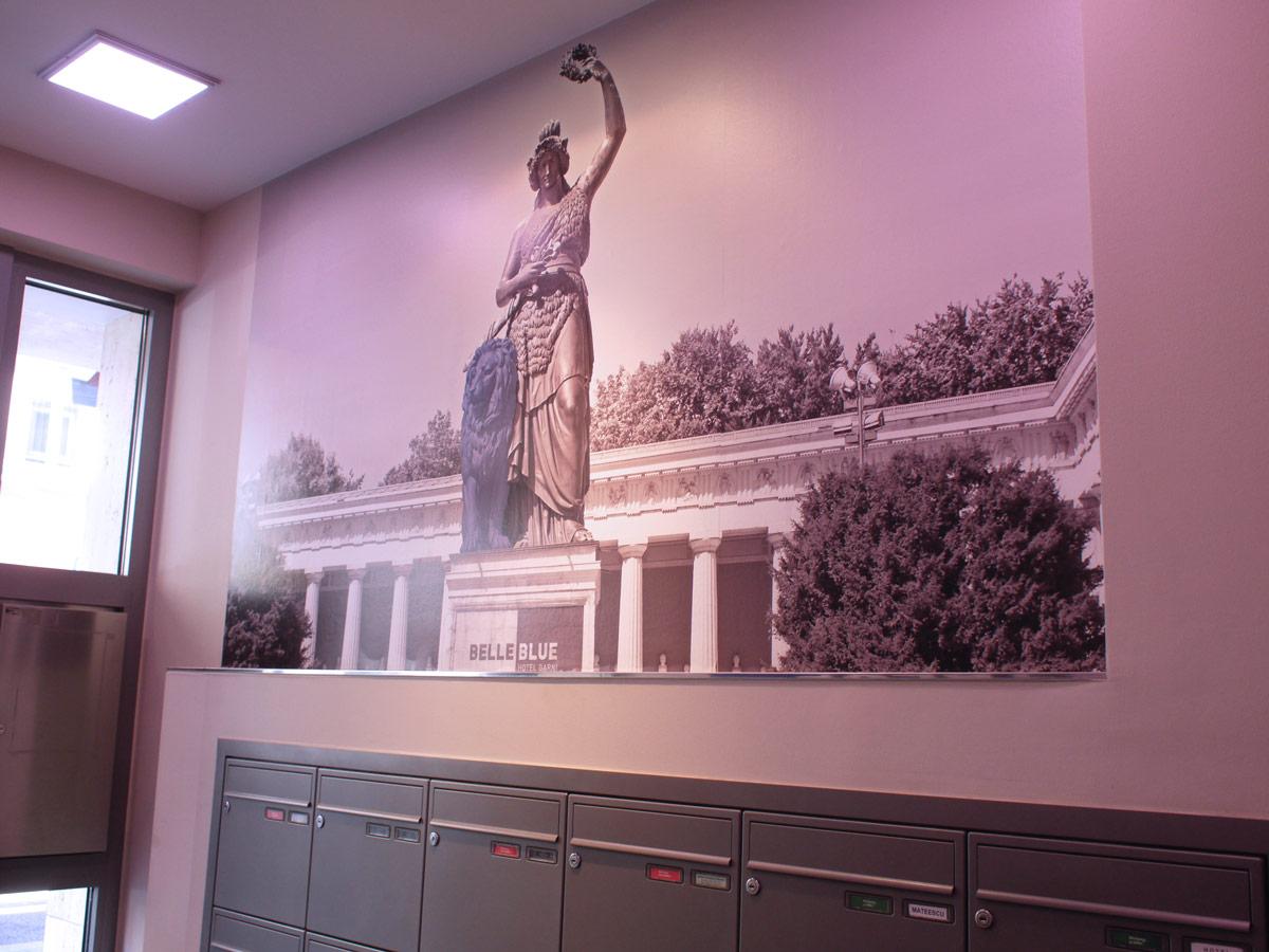 Wandgestaltung mit Bavaria